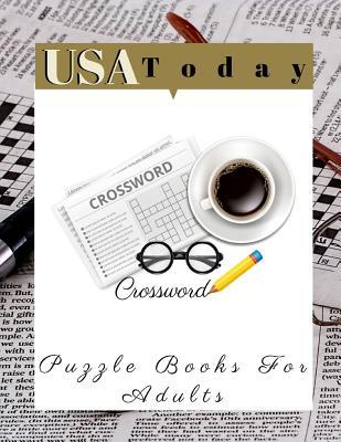 USA Today Crossword Puzzle Books For Adults: Crossword Word