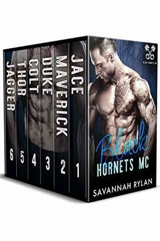 The Black Hornets MC Series: Books 1-6
