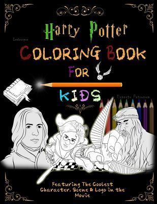 Harry Potter Coloring Book For Kids: Featuring The Coolest Character, Scene & Logo in the Movie