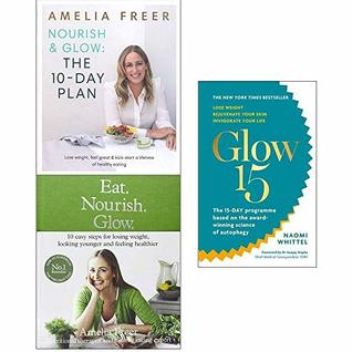 Nourish & Glow, Eat Nourish Glow [Hardcover], Glow15 Collection 3 Books Set