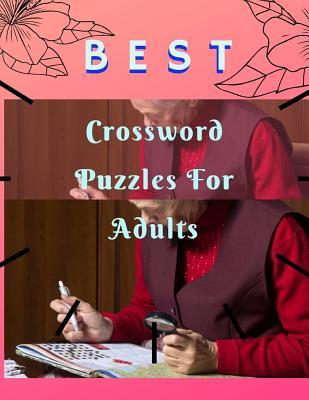 Best Crossword Puzzles For Adults: Crossowrd Puzzle Books For Kids And Adults Word find ... search hidden words puzzles, Amazing Activity Book.