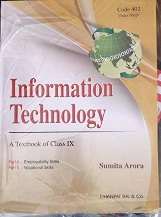 Information Technology A Textbook Of Class 9th