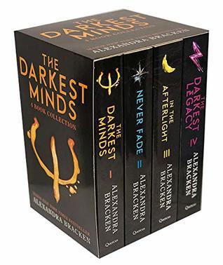 The Darkest Minds Series by Alexandra Bracken 4 Books Collection Set