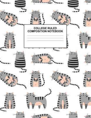 College Ruled Composition Notebook: Cute Blank Lined Journal to