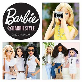 Barbie @barbiestyle 2020 Wall Calendar