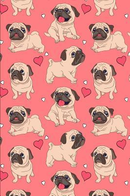 Notebook: Pug Cover Notebook / 120 Pages / Graph Paper / Size 6