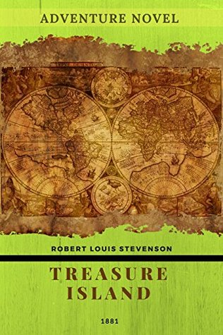 Treasure Island-illustrated: adventure novel by Scottish author Robert Louis Stevenson
