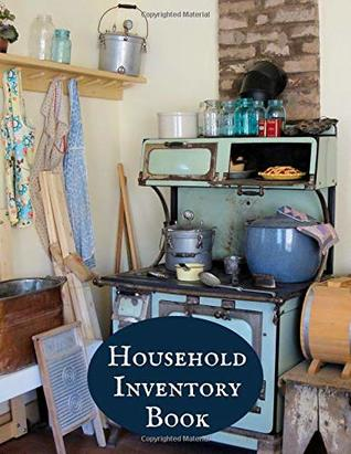 Household Inventory Book: Large Daily Weekly Monthly Year round