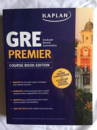 Kaplan GRE Premier Course Book Edition