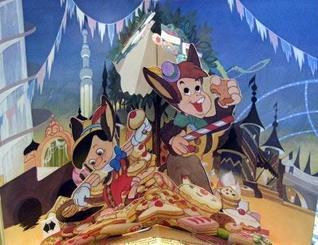 Pinocchio: Pop-up Book (Movie-go-round Books)