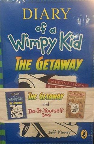 Diary of a Wimpy Kid: The Getaway & DIY shrinkwrap