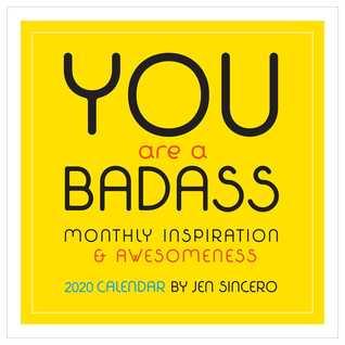 You Are a Badass 2020 Wall Calendar