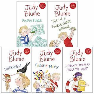 Judy blume fudge collection 5 books set