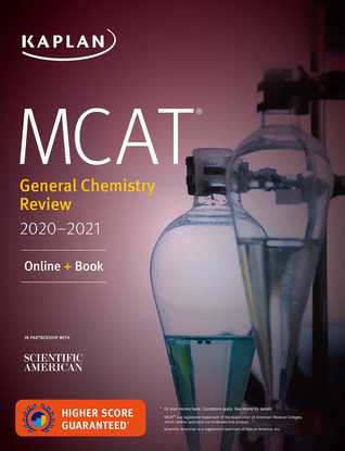 MCAT General Chemistry Review 2020-2021: Online + Book