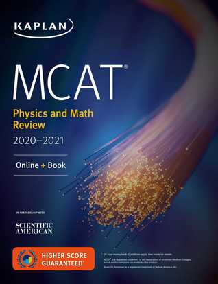 MCAT Physics and Math Review 2020-2021: Online + Book