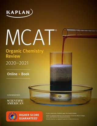MCAT Organic Chemistry Review 2020-2021: Online + Book