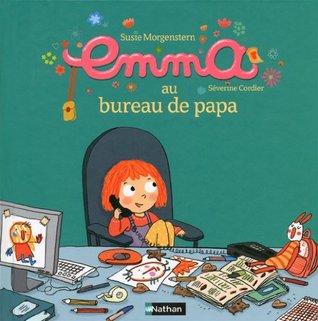 Emma au bureau de papa