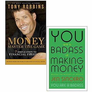 Money Master the Game, You Are a Badass at Making Money 2 Books Collection Set