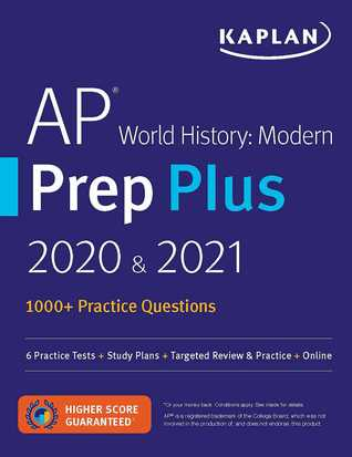 AP World History Modern Prep Plus 2020  2021: 5 Practice Tests + Study Plans + Review Notes + Online Resources