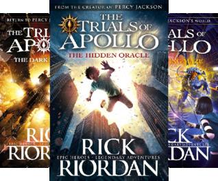 The Trials of Apollo (4 Book Series)