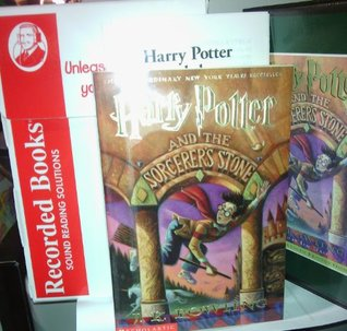 Unabridged Fiction On Cassette With Book - Harry Potter and the Sorcerer's Stone by J.K. Rawling Box Set Includes Teacher's Guide and Student Worksheet