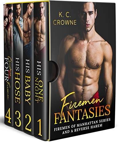 Firemen Fantasies Box Set (Firemen of Manhattan #1-3; Spencer Sisters, #2)