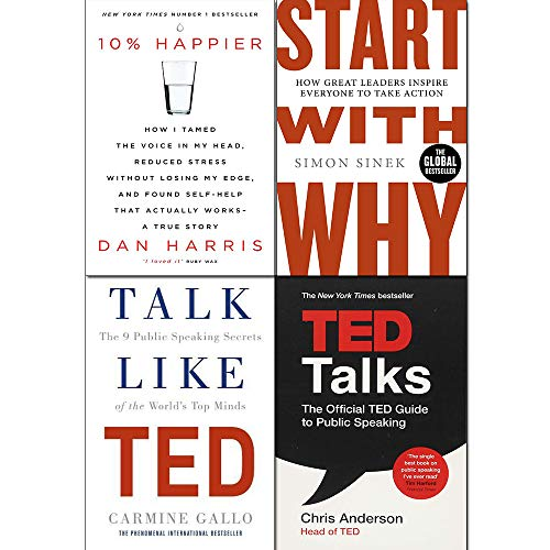Start With Why / 10% Happier / Talk Like TED / TED Talks