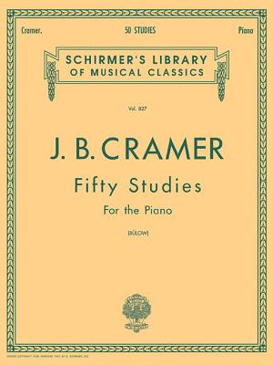 50 Selected Studies (Complete): Schirmer Library of Classics Volume 827 Piano Solo