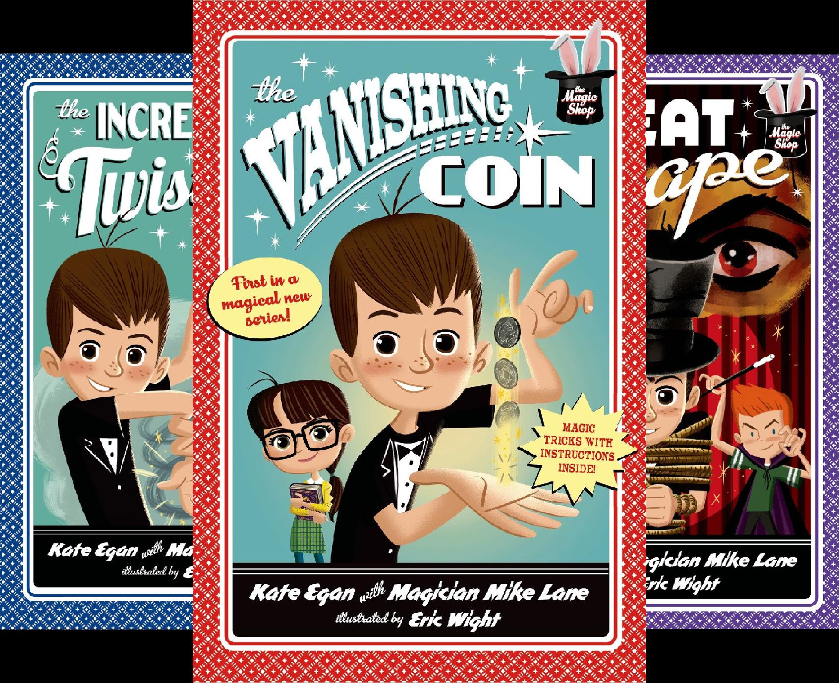 Magic Shop Series (4 Book Series)