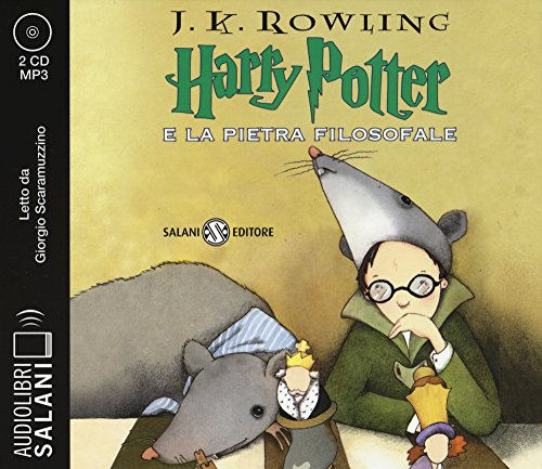 Harry Potter e la pietra filosofale. Audiolibro. 2 CD Audio formato MP3 (Italian version of Harry Potter and the Philosopher's Stone