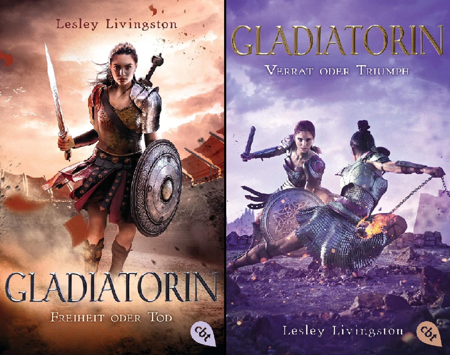 Die Gladiatorin-Reihe (Reihe in 2 Bänden)