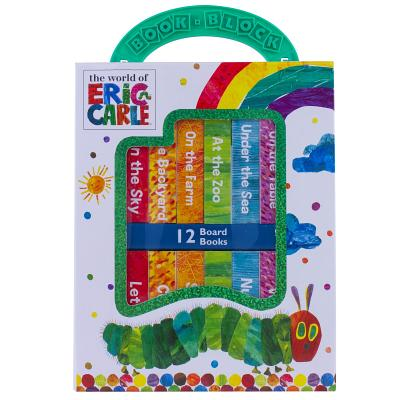 The World of Eric Carle Book Block Deluxe My First Library