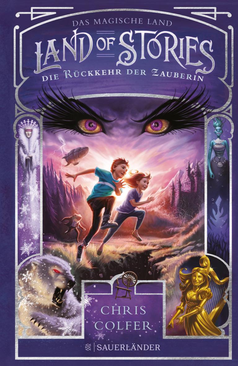Die Rückkehr der Zauberin (Land of Stories, #2)