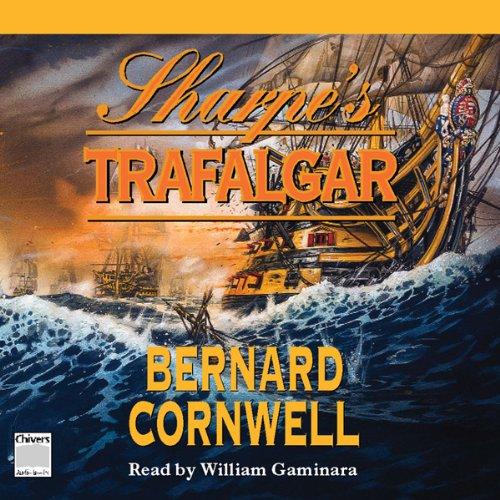 Sharpe's Trafalgar by Bernard Cornwell Unabridged MP3 CD Audiobook