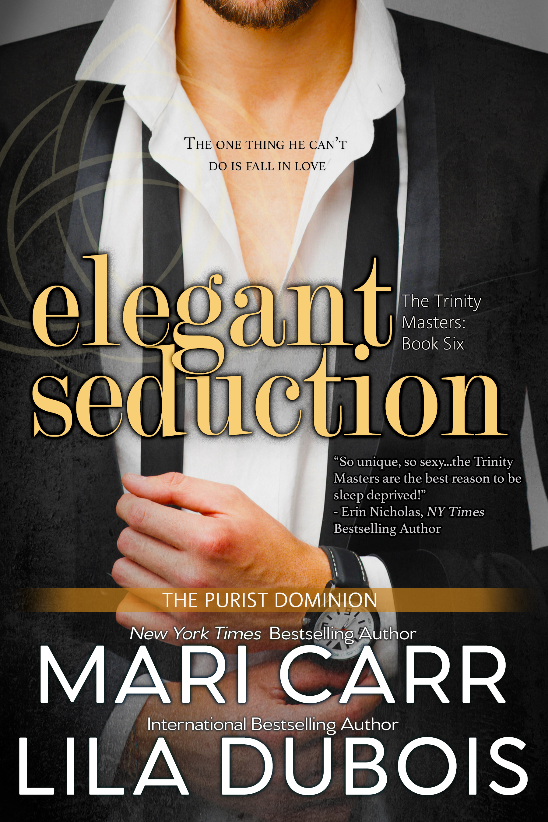 Elegant Seduction (Trinity Masters, #6)