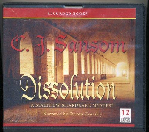 Dissolution by C J. Sansom Unabridged CD Audiobook