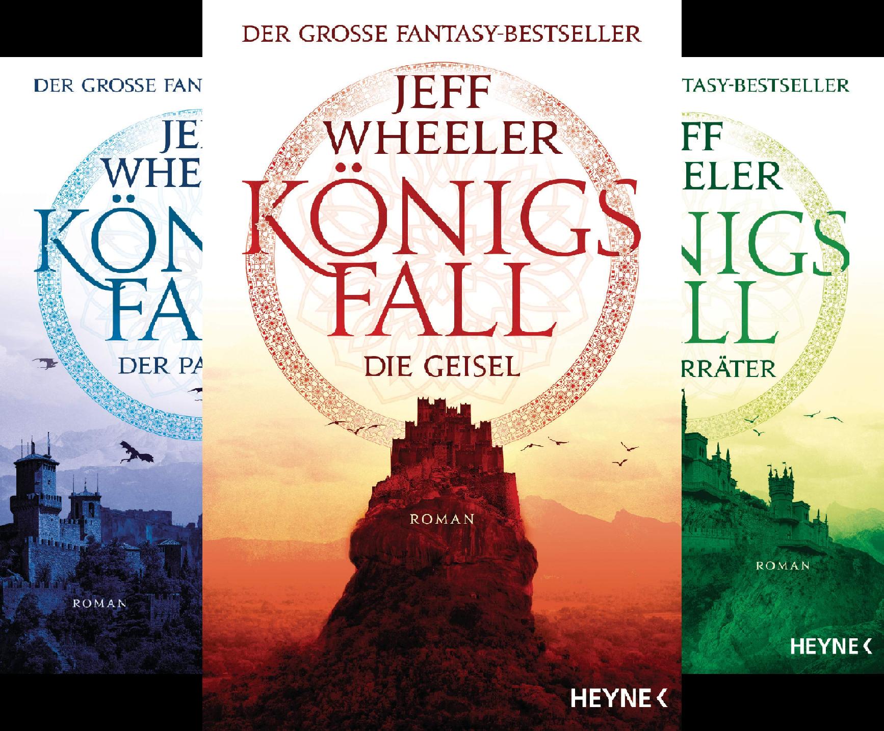 Königsfall-Reihe (Reihe in 3 Bänden)