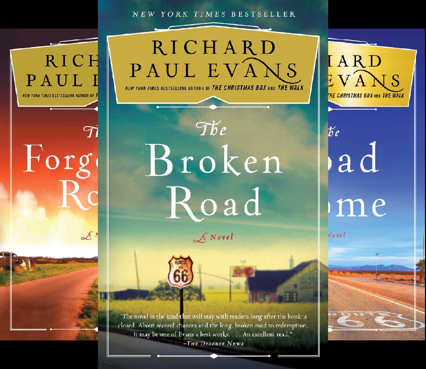 The Broken Road Series (3 Book Series)