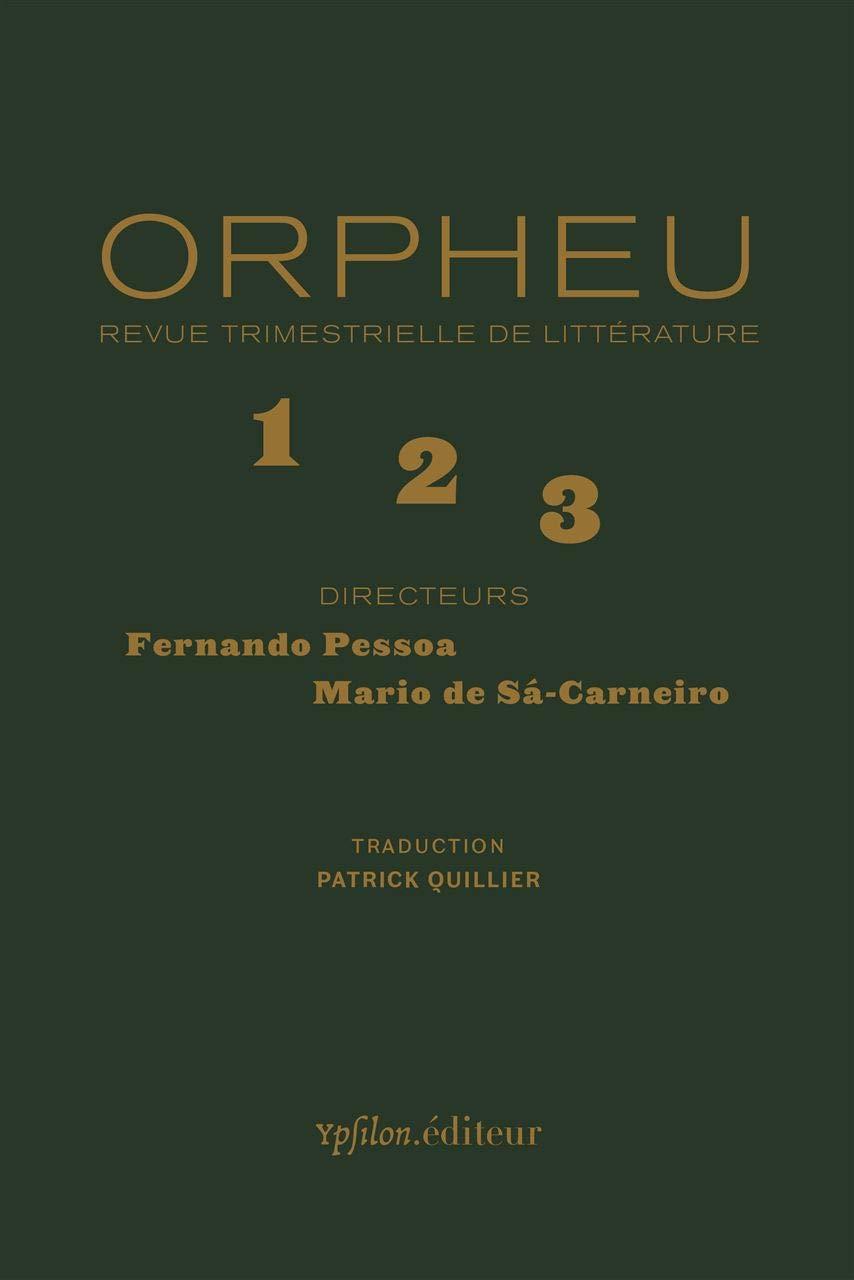 Orpheu - Revue trimestrielle de littérature   1  2  3