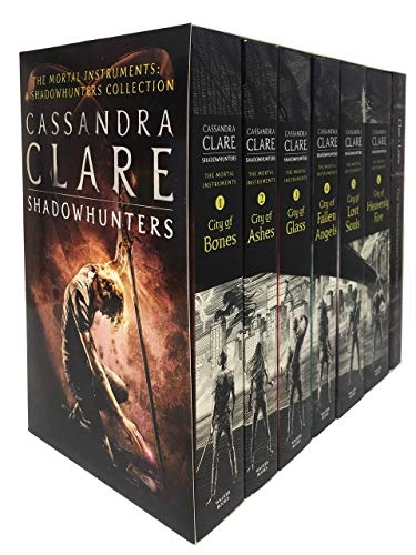 Cassandra Clare Set 7 Books Collection Mortal Instruments Series