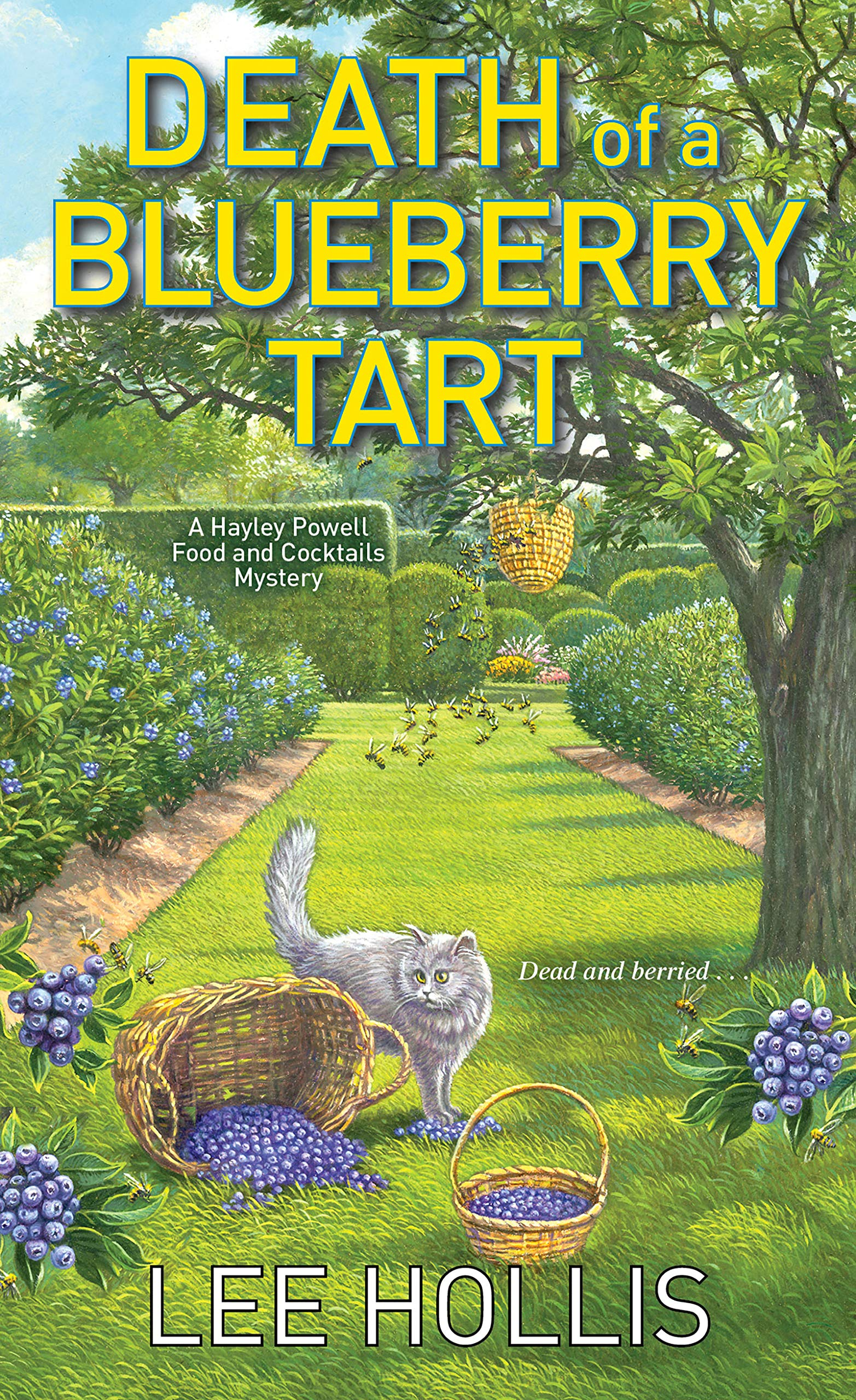 Death of a Blueberry Tart (Hayley Powell Food and Cocktails Mystery #12)