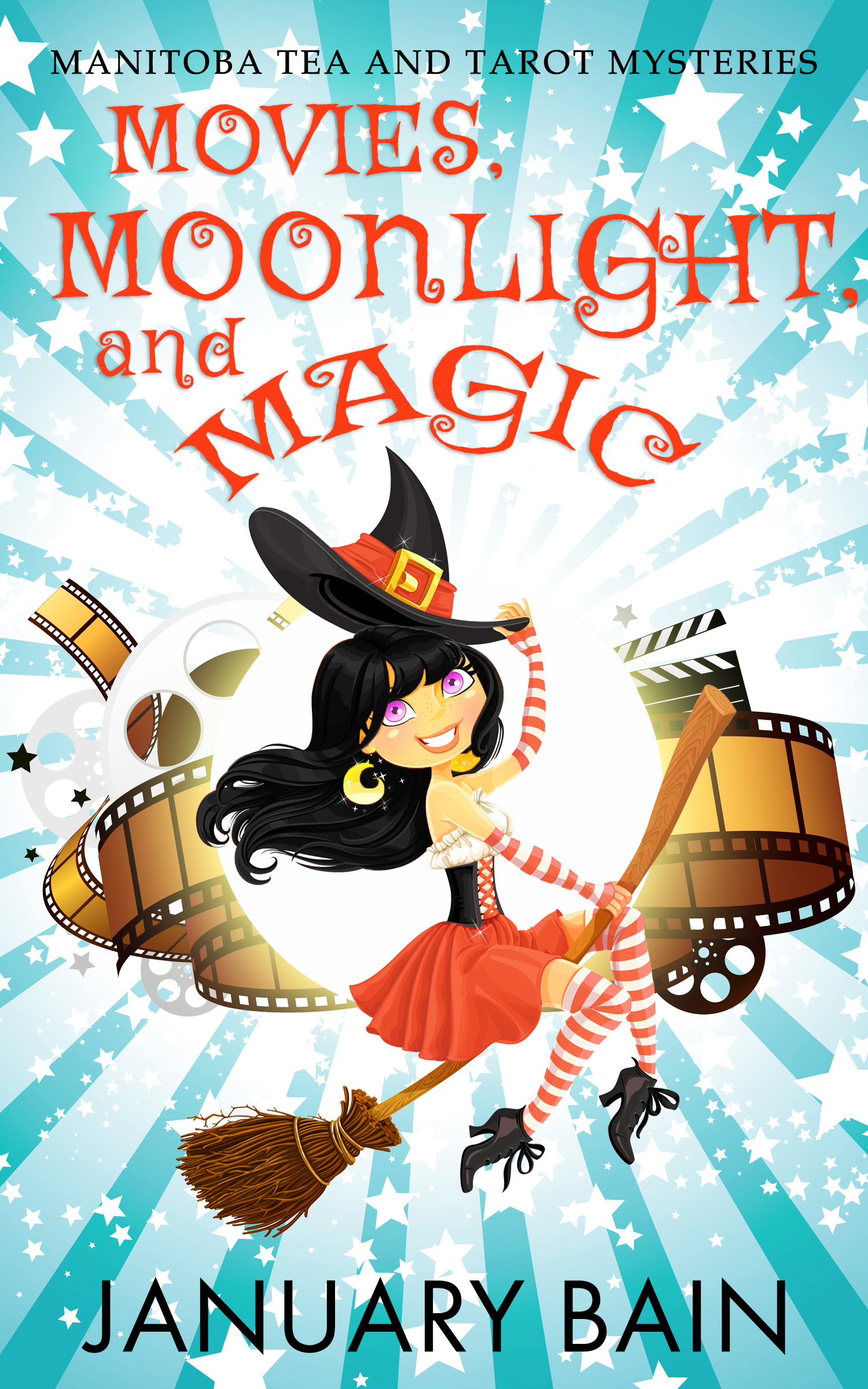 Movies, Moonlight & Magic (Manitoba Tea & Tarot Mysteries, #2)