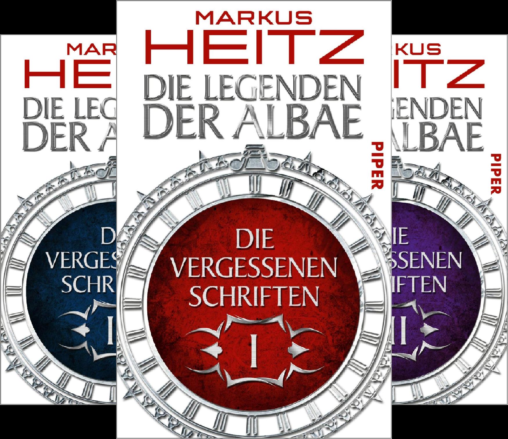Die Vergessenen Schriften (Reihe in 10 Bänden)