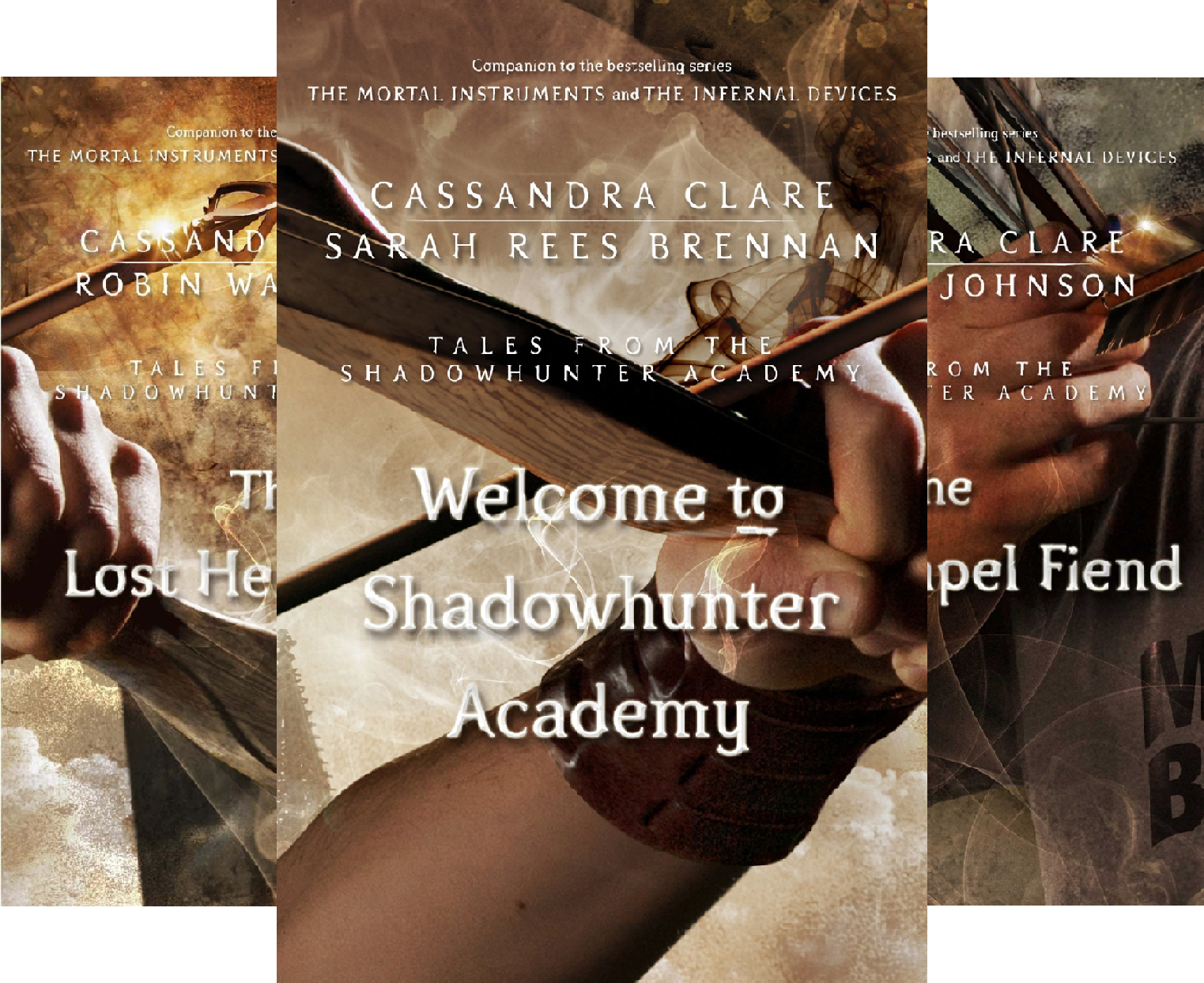 Tales From The Shadowhunter Academy (10 Book Series)