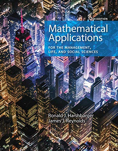 Bundle: Mathematical Applications for the Management, Life, and Social Sciences, 12th + WebAssign, Multi-Term Printed Access Card