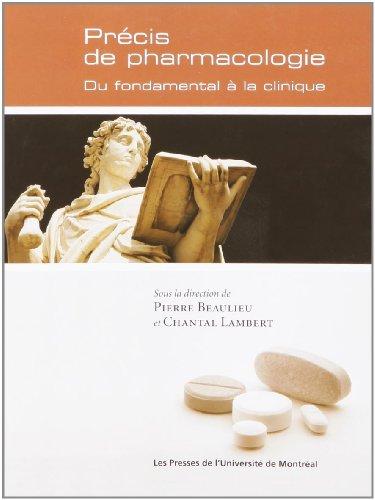 PRÉCIS DE PHARMACOLOGIE