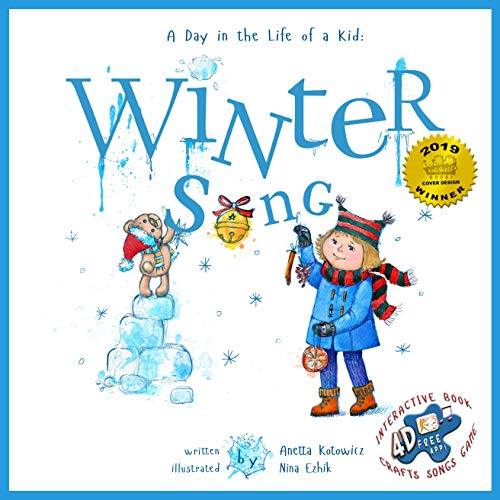 Winter Song (Day in the Life of a Kid): Reading Music Crafts and Game to Play for boys and girls (A Day In The Life Of A Kid Book 2)
