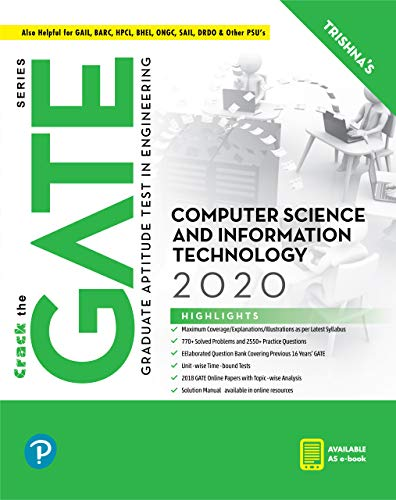 GATE Computer Science and Information Technology | GATE 2020 | By Pearson