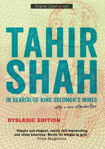 In Search of King Solomon's Mines, Dyslexic edition
