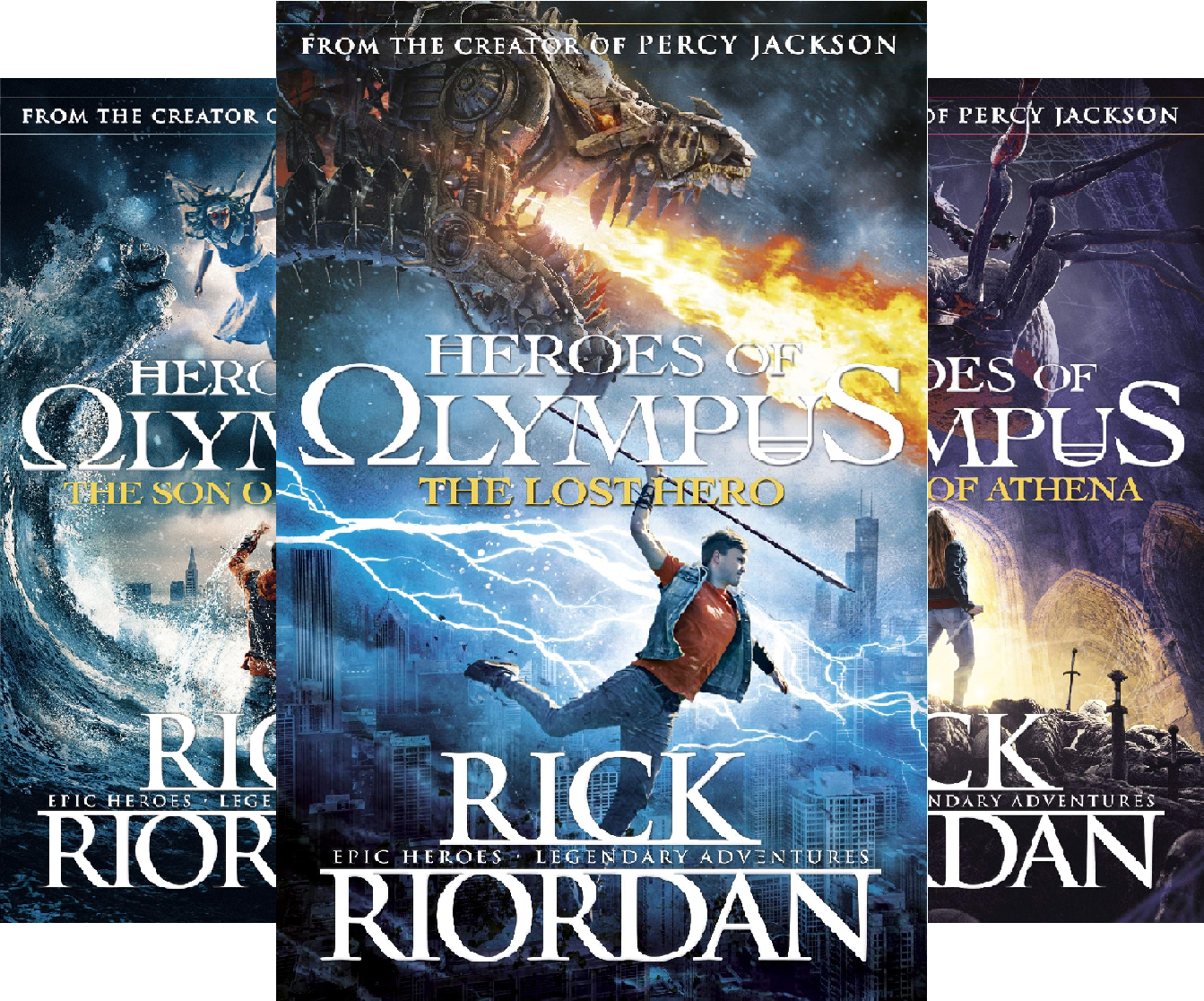 Heroes of Olympus (6 Book Series)